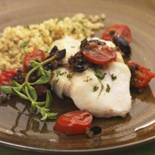 seared tilapia by chef sanchez